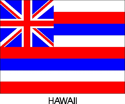 HD wallpapers hawaii state flag coloring page